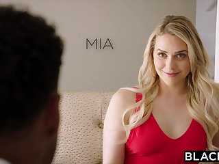 High Heels BLACKED Mia Malkova Gets Dominated By Two BBCs