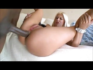 Young Jessie ruined by big black cock