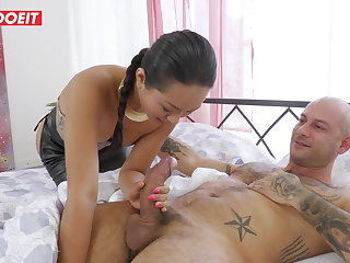 Thai LETSDOEIT - Ass Ramming and Humiliation for Petite Thai Babe