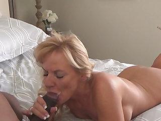 Redheads blonde milf loves black cock