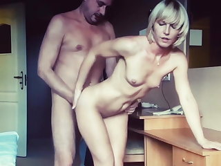Voyeur hotel fuck - I like how cum drips from her