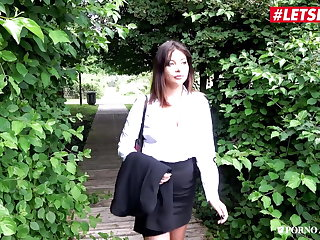 Korean LETSDOEIT - Horny MILF Teacher Anna Polina Anal Banged