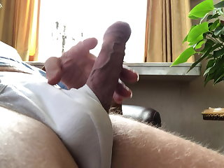 Fisting My 67 old cock