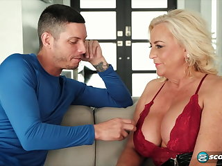all charliee adams with young cougar HD