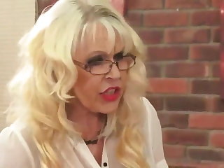 Teacher OLD&YOUNG-Granny Teacher Fucked by Student
