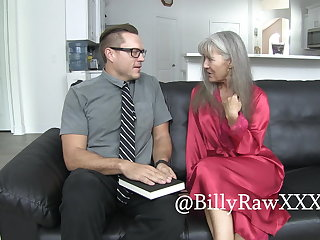 Maid Mormon Missionary Gets Fucked By Milf Leilani Lei