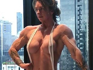 Muscular Women Super Buff Babe