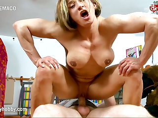 Muscular Women My Dirty Hobby - Hardcore sex and lots of muscle