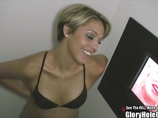Glory Holes Small Tit Hottie Glamour Blonde Blowjob Whore