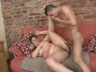 Beautiful mature moms take young dicks