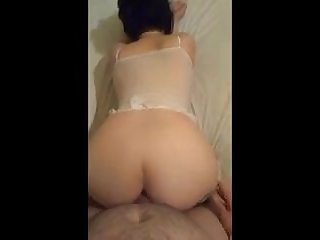 Rimjob Wife enjoys anal sex
